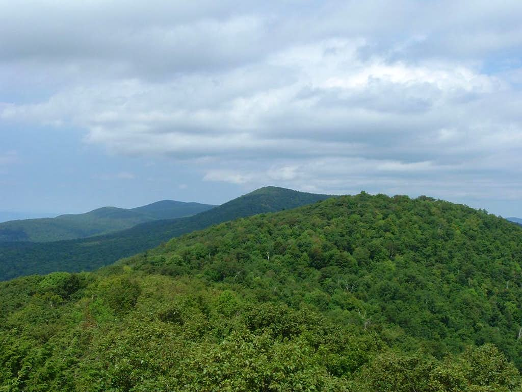Looking North from Bearfence Mountain