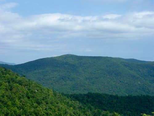Fork Mountain from Bearfence