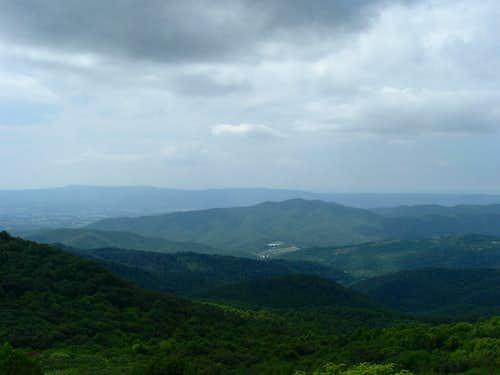Jones Mountain from Bearfence