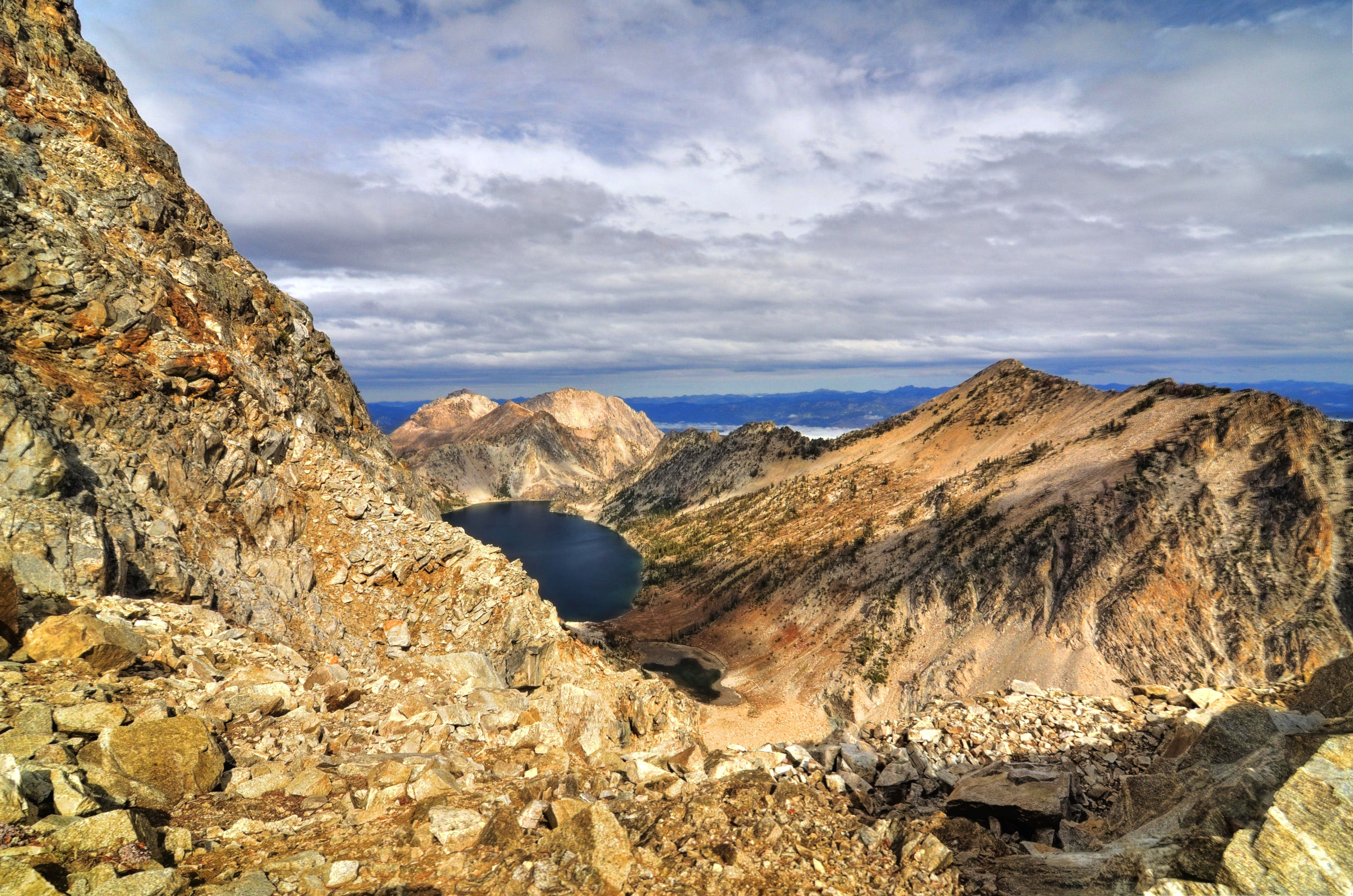 Top 10:  Easy Peak Scrambles in the Sawtooths