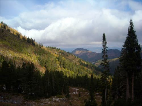East toward Mt.Aire