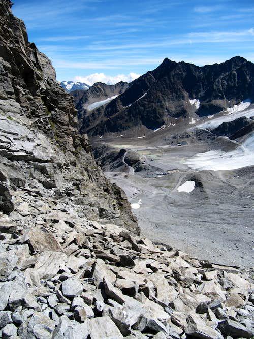 View from Pollesjoch