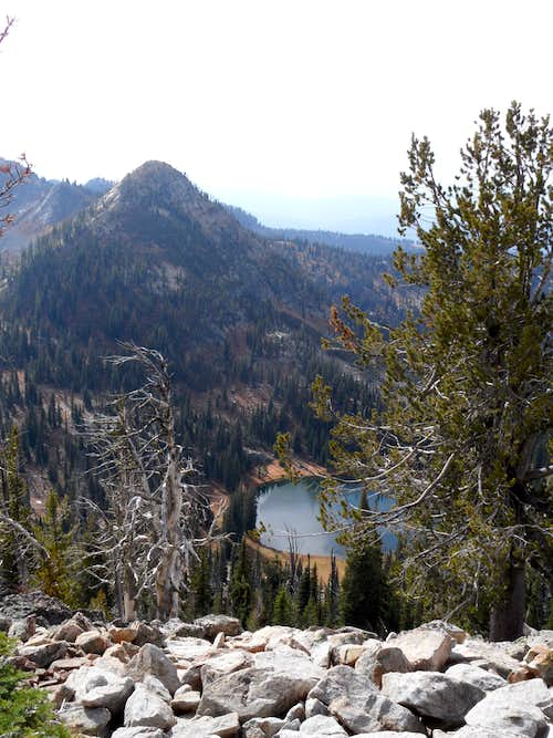Rapid Peak and Summit Lake
