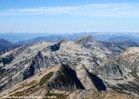 Ojibway, Rock, and Saint Paul Peaks