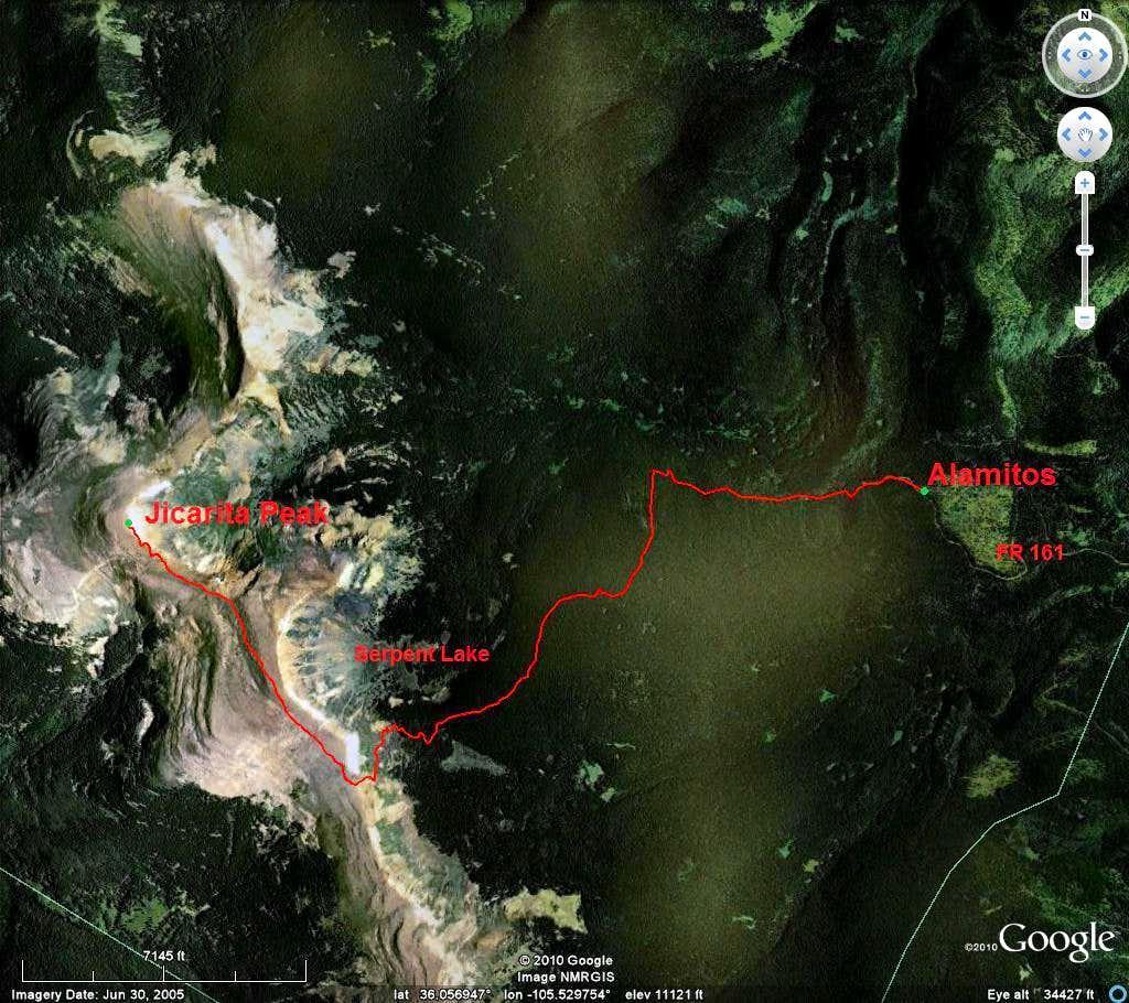 Jicarita Peak Trail