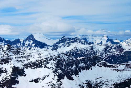 Apikuni Mountain NW summit view