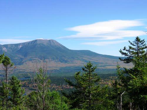 Katahdin from Sentinel Mountain