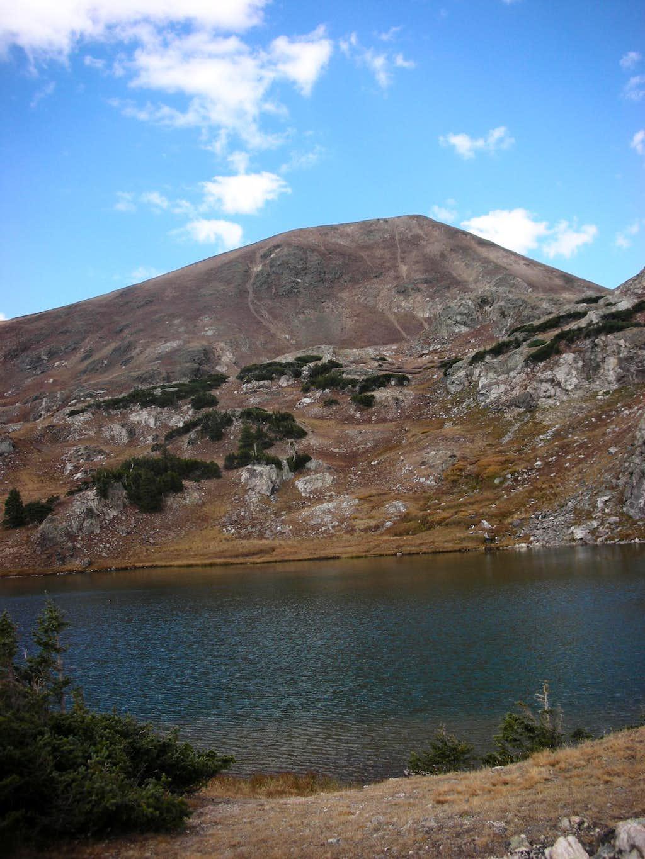 Parika Peak and Parika Lake