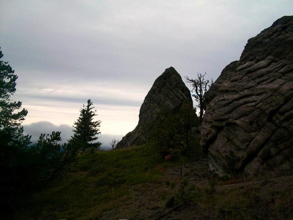 Ledge on Mount Lillian