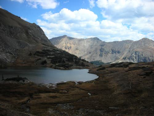 View from just above Parika Lake