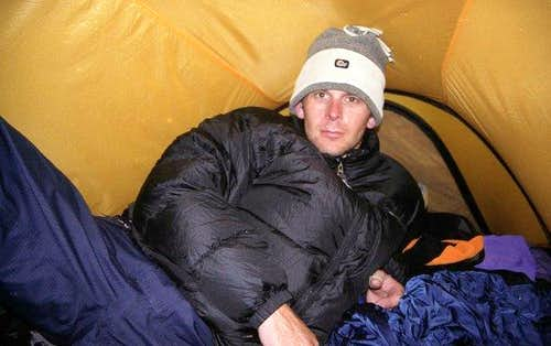 Freezing at the Col. du Midi