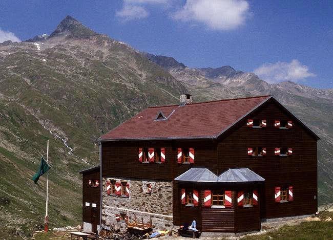 Elberfelder hut (July 1990)