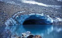 Goessnitz glacier lake