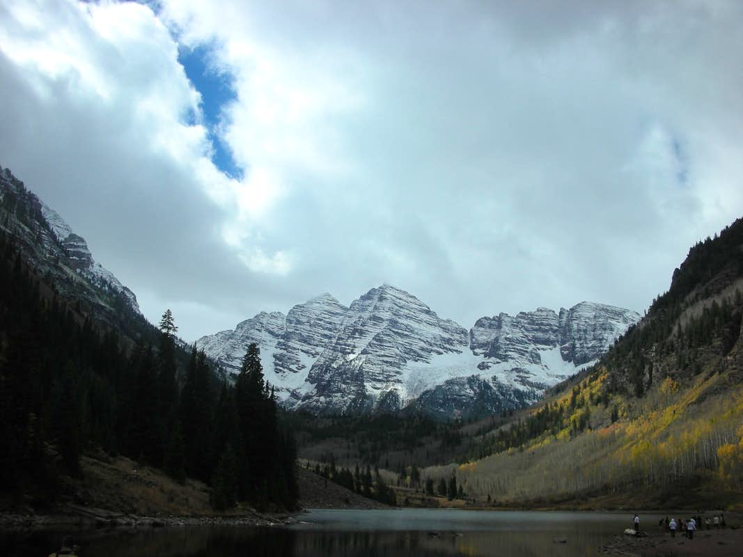 The Bells and Maroon Lake