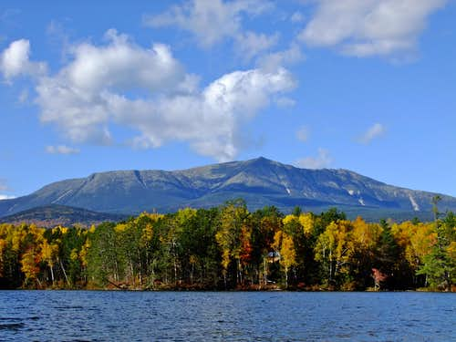 Katahdin From Upper Togue Pond