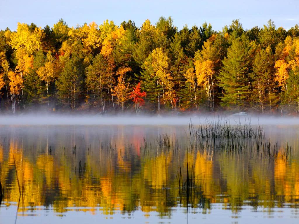Morning on Upper Togue Pond
