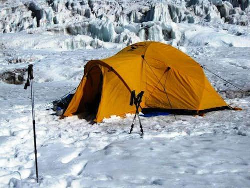 Ancohuma high camp