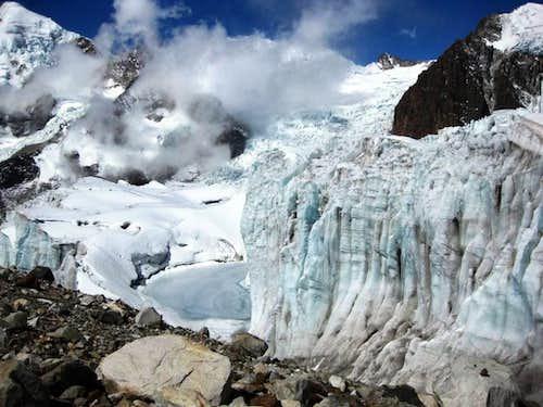 Weird glaciers