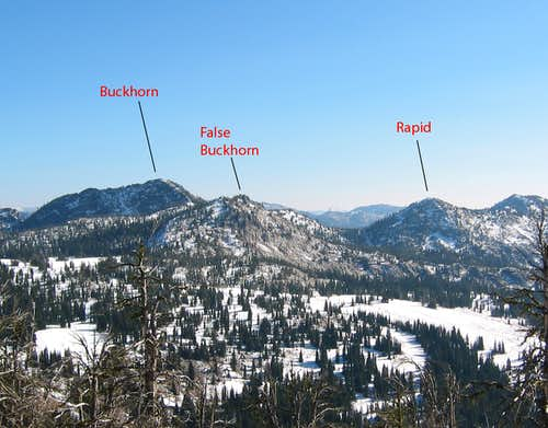 Buckhorn and False Buckhorn