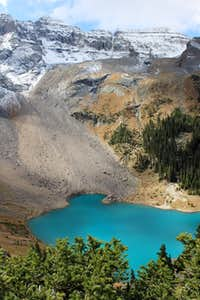 The Lowest Blue Lake