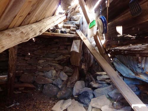Inside the Summit Hut