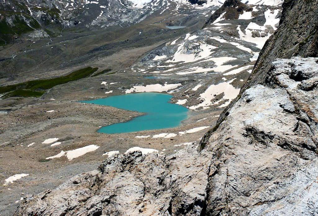 Truc Saint Hélène and Tsantèleina's Lake