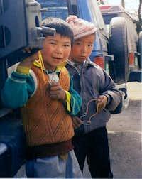 Street Boys of Lhasa,Tibet-...