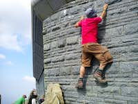 Wales\' Highest Artificial Wall