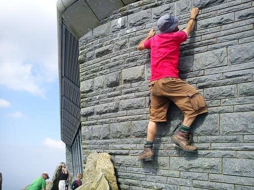Wales' Highest Artificial Wall