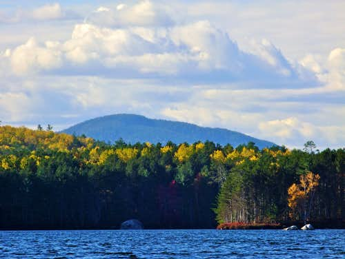 Sentinel Mountain From Upper Togue Pond