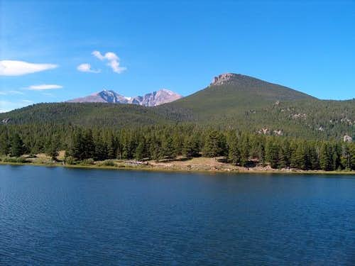 Mt. Meeker, Longs Peak and...