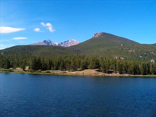 Mt. Meeker, Longs Peak and...