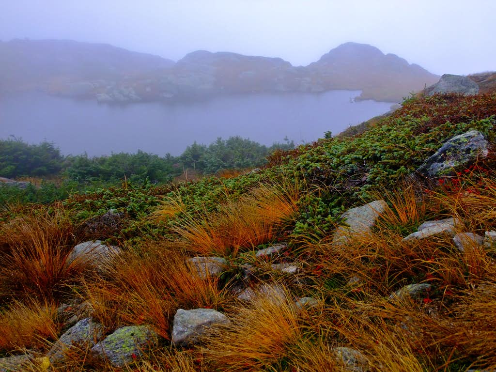 Lakes of the Clouds in Autumn
