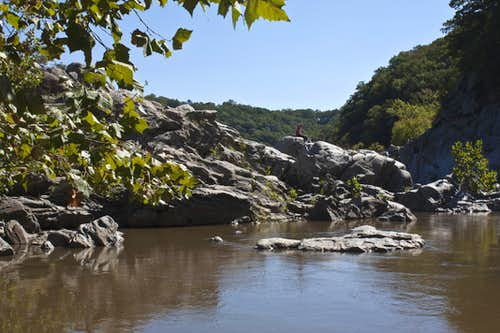 A Quiet Spot in the Mather Gorge