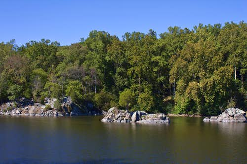 Rocky Islands in the C & O Canal