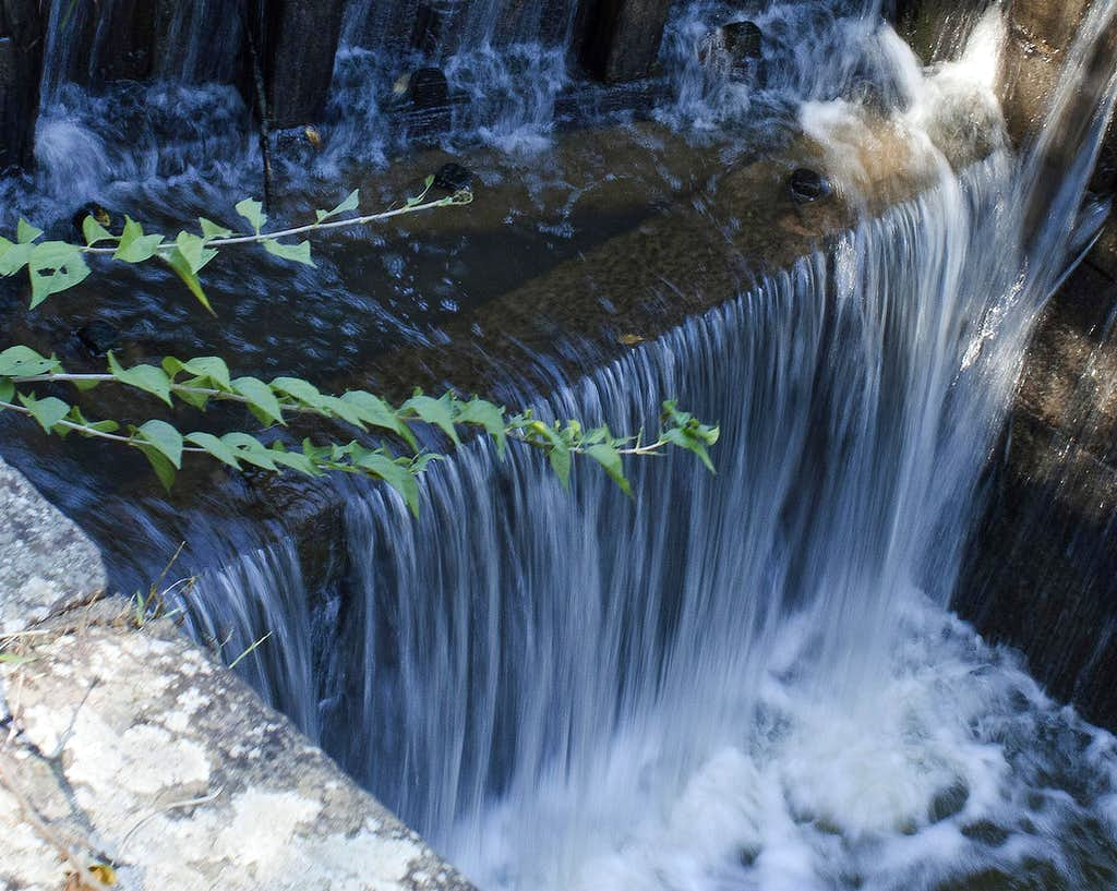 C & O Canal Waterfall