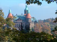 The Książ castle, in the heart of the mountain
