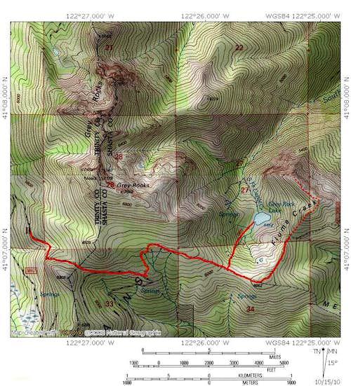 Grey Rock Lake Trail