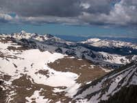 The Saddle and Mount Richthofen