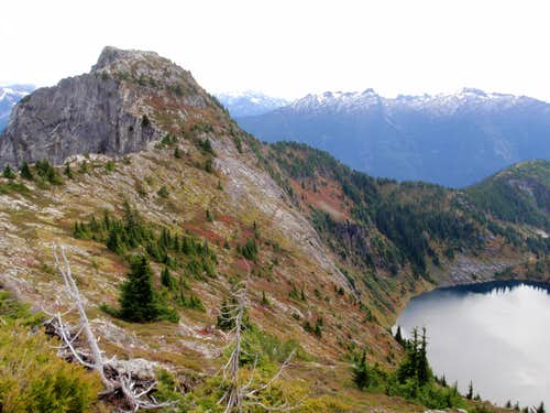 Trappers Peak And Lower Thornton Lake