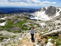 Medicine Bow Peak, WY