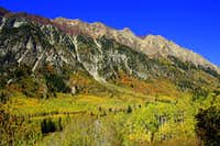 Beautiful 2010 Fall Colors in Little Cottonwood Canyon