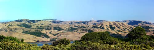Point Reyes Hill east pano.