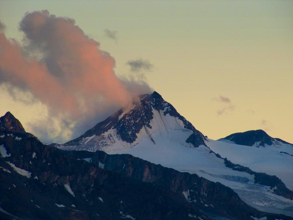 Finailspitze (3516m) after Sunset
