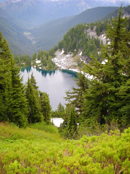 Trap Lake from Ridge to Nimbus