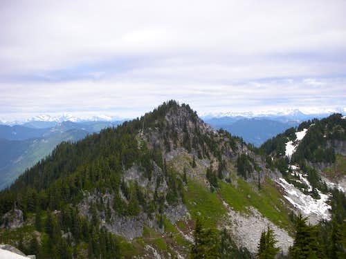 Looking North Towards Glacier Peak
