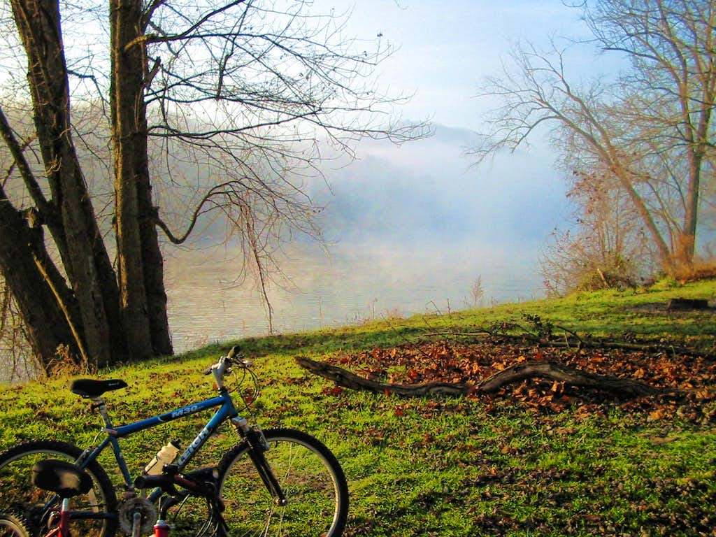 C & O Canal Towpath Campsite