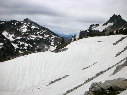 Looking past Nimbus Peak