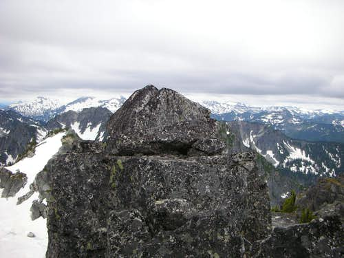 Summit view from Nimbus