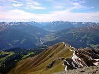 Hohe Aifner Spitze summit view (W)